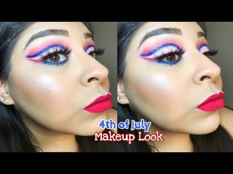 Fourth of July Look | BH Cosmetics | Lunar Beauty | iitsVB thumbnail