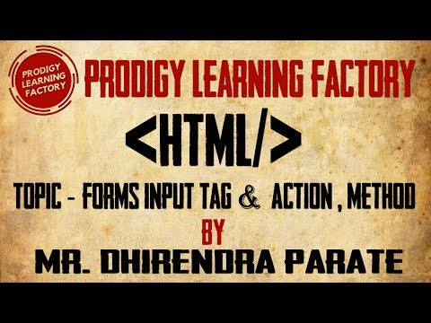Final Forms Input Tag, Action & Method Attribute In HTML
