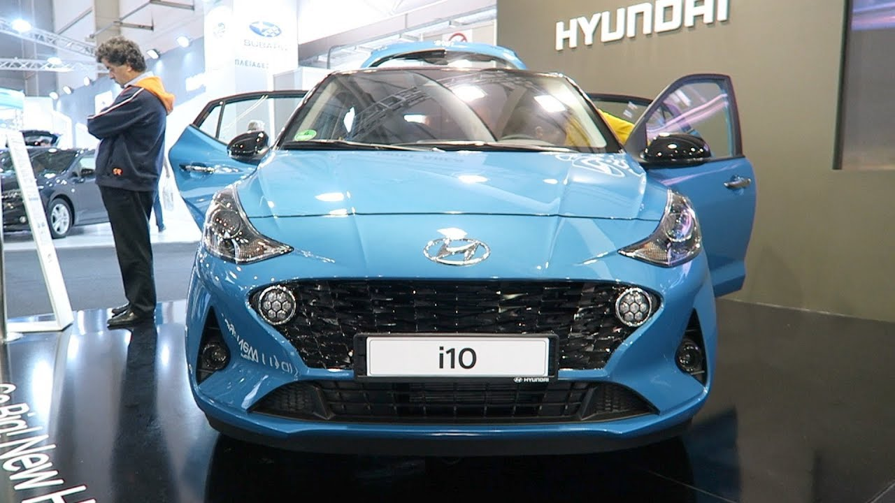 New 2020 Hyundai I10 Exterior Interior Youtube
