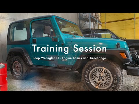 Training Session With Owner Of The 1997 Jeep TJ