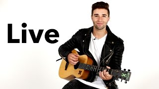 Gambar cover Jake Miller Performs 'Overnight' Acoustic - HollywoodLife Live Sessions