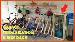 Garage Organization and Bike Rack