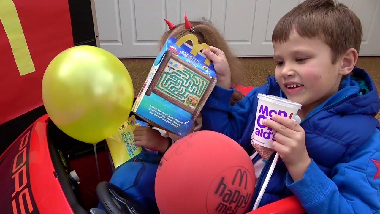 Катя и МакДональдс
