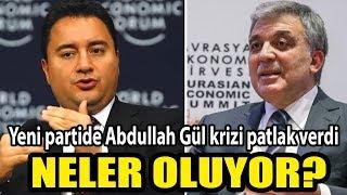Neler oluyor Yeni partide Abdullah Gül krizi patlak verdi