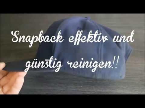 DIY Snapback richtig sauber machen ! einfach & günstig