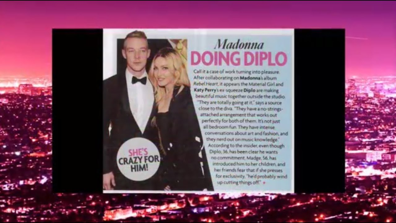 diplo and madonna dating