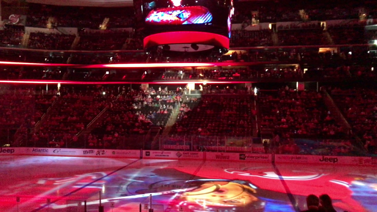 New Jersey Devils 2016-2017 Intro (vs  New York Rangers)