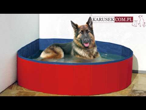 Karlie Doggy Pool - basen dla psa, odporny na psie pazury IDEALNY NA LATO!