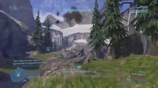 Halo 3 Ownage : : AMAZING Flag Kill : : Banshee vs. Player
