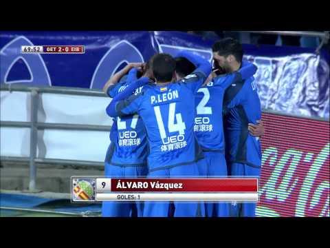 #FFantasyGol :: Álvaro Vázquez (Getafe) vs Eibar. Temporada 2014/15 (Copa del Rey)