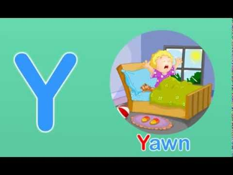 Toddler Words | Words Starting With Y - YouTube