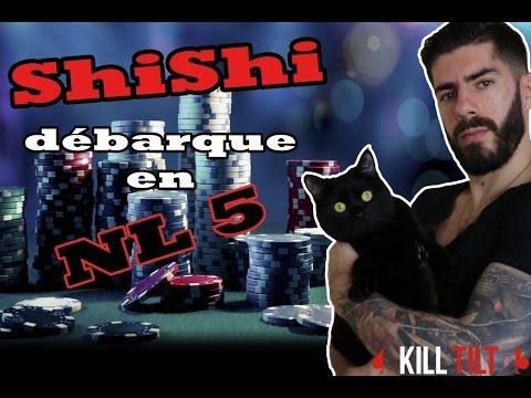Poker en Cash Game NL5 (0.02/0.05€)