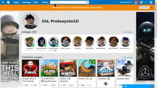 CHANGE ACCOUNT OF ROBLOX GEMADA | BY ONE OF FF
