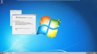Windows 7 Ultimate 64-Bit SP1 in Vmware Player 5.0