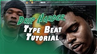 Making a DRIP HARDER Type Beat (Lil Baby x Gunna Type Beat) | FL Studio 20 Tutorial
