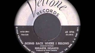 Sugarpie DeSanto - Going Back Where I Belong