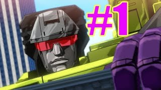 Transformers Devastation Gameplay Playthrough #1 - Devastator (PC)