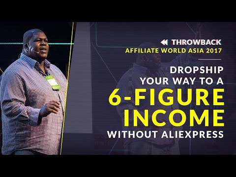 Dropshipping Business: 6-Figure Income Without AliExpress | Throwback AWA17 thumbnail