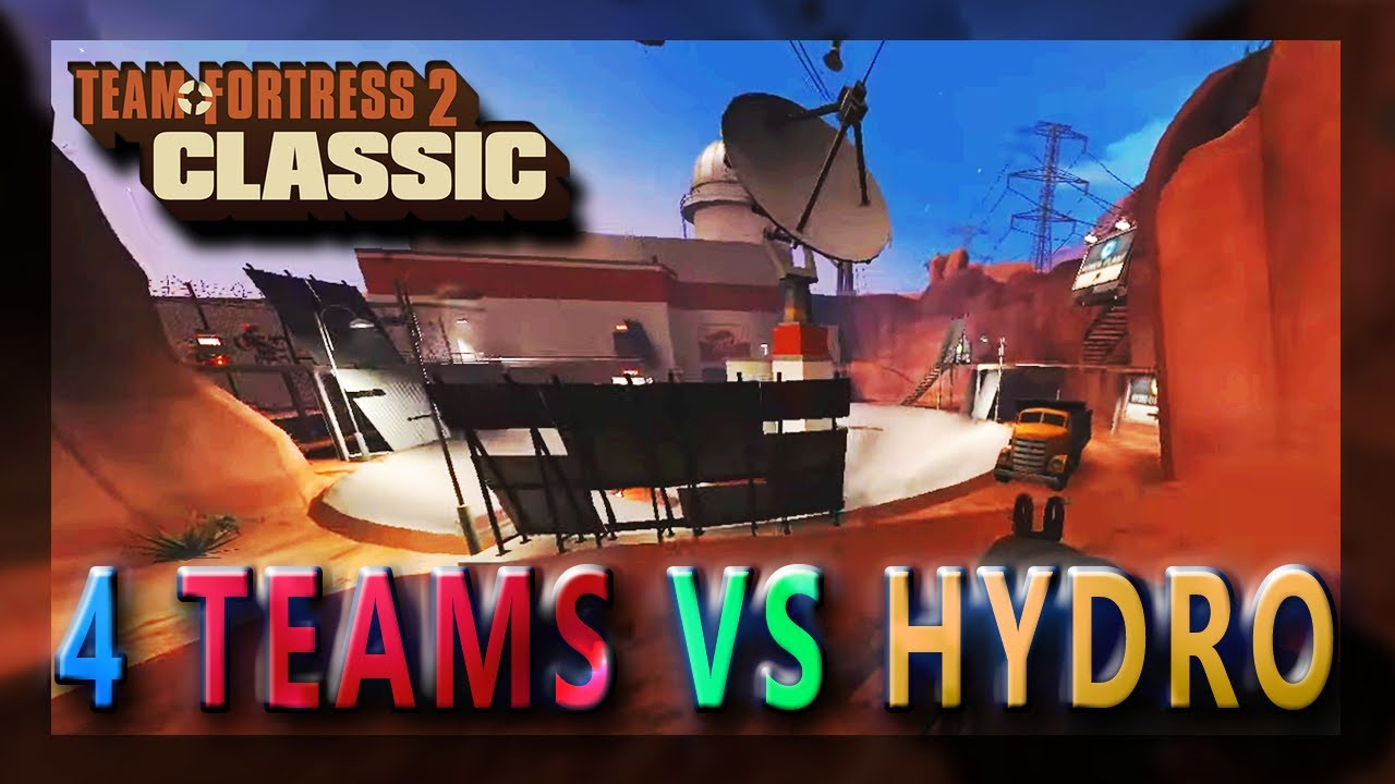 64 Max Players - Fighting to Win Hydro!  - TF2 Classic