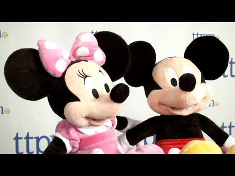 Mickey & Minnie Mouse Plush - Medium 18