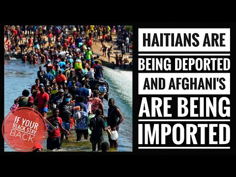 U.S. Deporting Massive Number Of Haitians From Del Rio, Texas By Plane