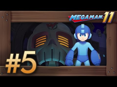 Mega Man 11: Walkthrough Part 5 - Dr. Wily Stages (Switch Gameplay)