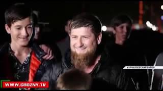 Рамзан Кадыров проделал пеший путь из Ойсхара до Центароя