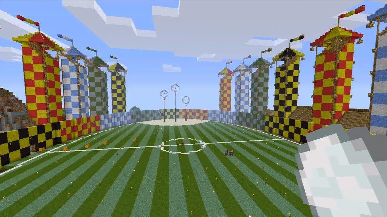 Minecraft Xbox Quidditch Pitch Earl Of Locksley S World Tour