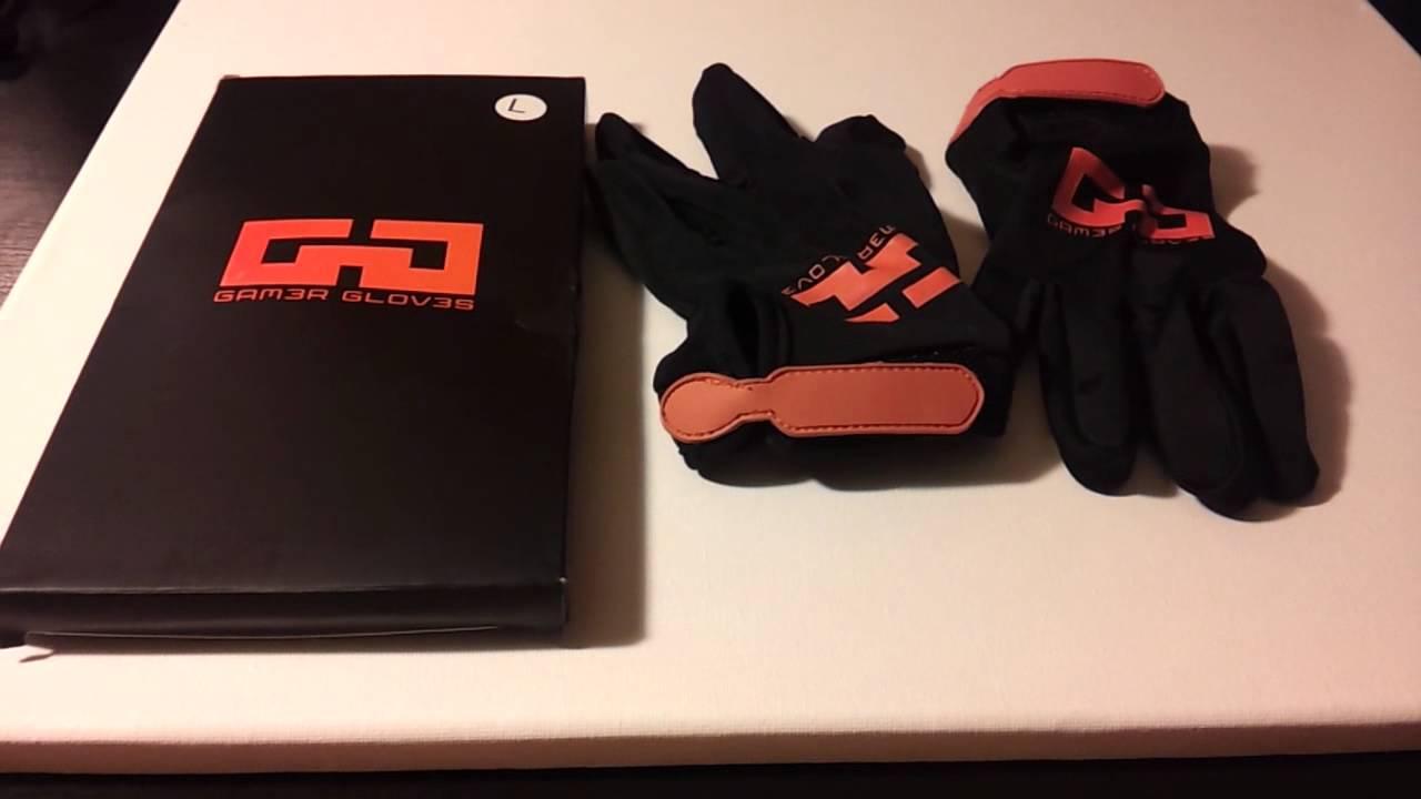 Fingerless gloves for gaming - Gamer Gloves Review