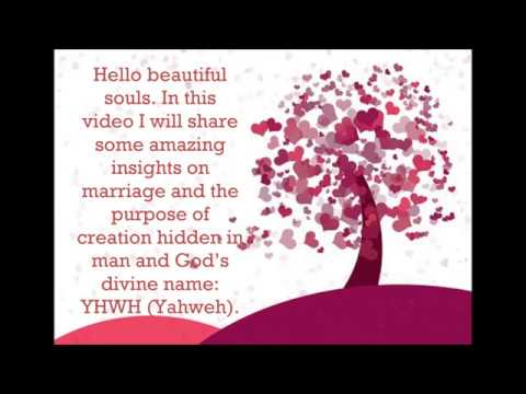 Secret of Marriage hidden in man and God's name by Julia Fernandes