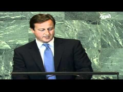 British PM on Arab Spring and Palestinian State