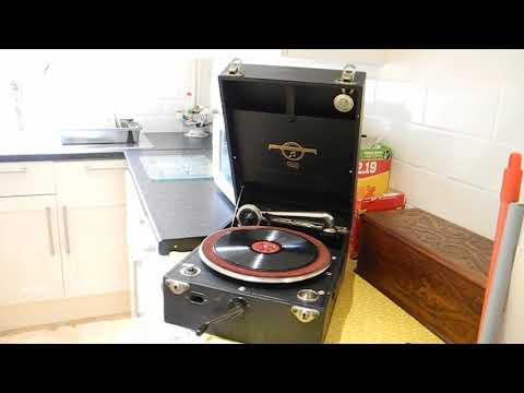 1929 columbia 109 wind up grammphone