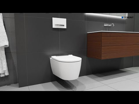 Geberit ONE WC - Installation