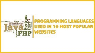 Programming languages used in 10 most popular websites