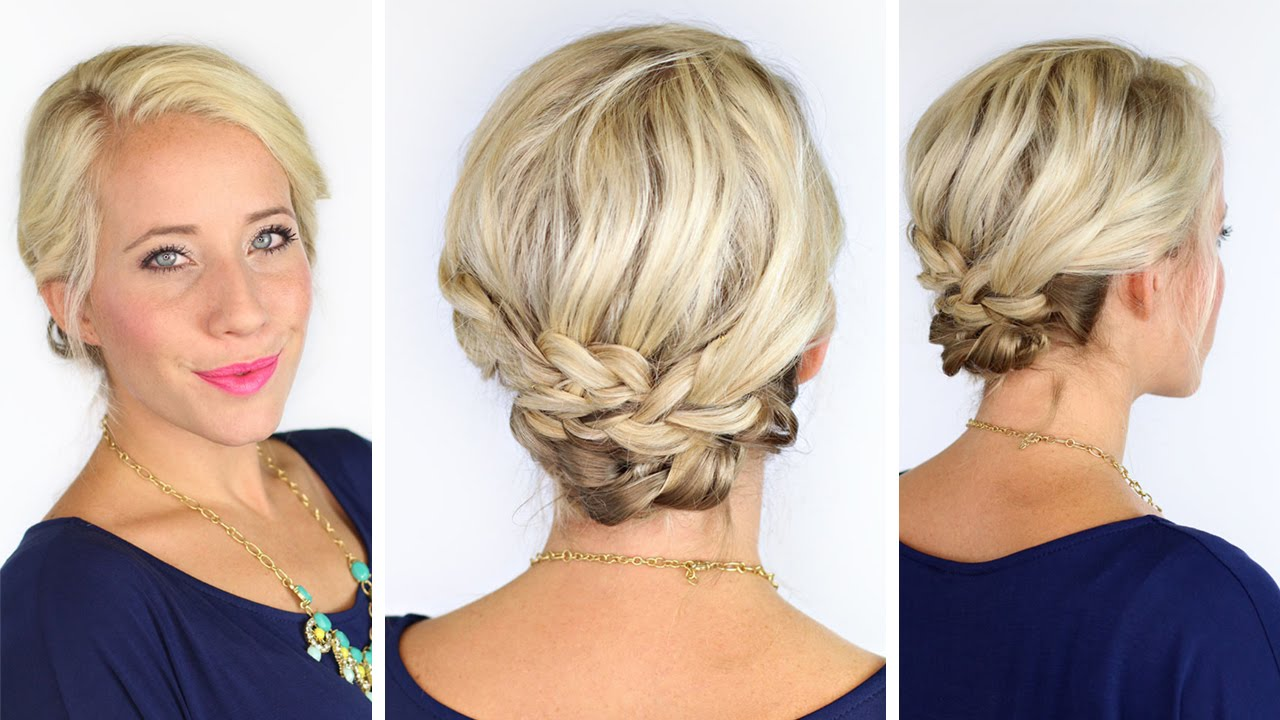 bohemian braids short hair