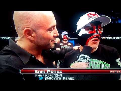 Eric Perez...said what?