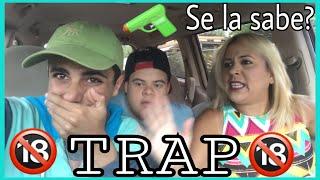 MI MAMÁ REACCIONA A LAS CANCIONES DE TRAP ( Bad Bunny, Maluma, J Balvin, Anuel AA) thumbnail