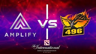 🔴[EN] Dota 2 Live   AMPLFY vs 496 Gaming   TI9 Closed Qualifiers