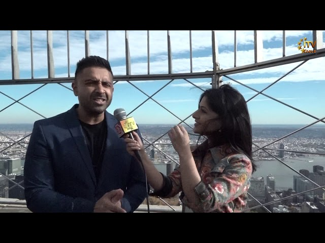 Empire State Lights Up for Diwali 2018 - Featuring Jay Sean & Nina Davuluri