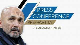 BOLOGNA-INTER | Luciano Spalletti in conferenza stampa LIVE