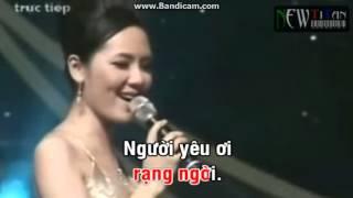 Cơn mưa tình yêu karaoke (mời giọng nữ)