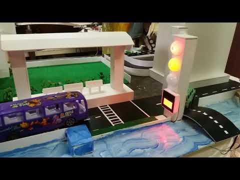 Transport and communication technology project from mridula crafts and arts - chennai