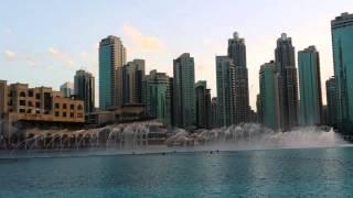 Musical Fountain at Dubai Mall 2016