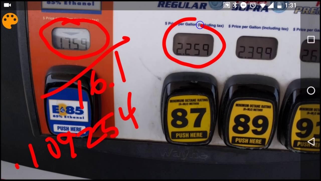 What Is E85 >> E85 Vs Gasoline Which Is Cheaper