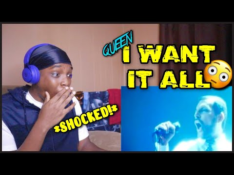 Queen - I Want It All (Official Video) REACTION! LFR (Brian May Can SING??)