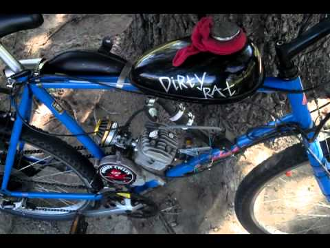 80cc Motorized Bicycle With Chainsaw Carburetor Doovi