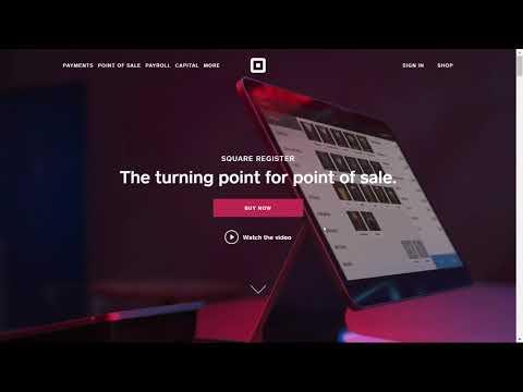 Square Stock news SQ 2017 review fundamentals eventbrite, godaddy, partnerships, POS, revenue growth
