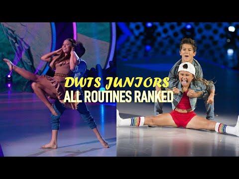 DWTS Juniors All Dances Ranked (71-1)