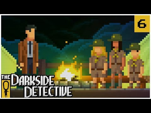 LOCH MESS - The Darkside Detective EP. 6 - Lets Play The Darkside Detective Gameplay