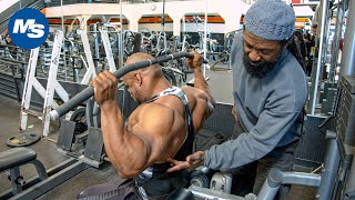 Back Workout | Charles Glass Trains Errol Moore at the Mecca